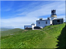HU4007 : Sumburgh Head Lighthouse from the south west by Ruth Sharville