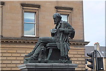 NT2574 : Statue of James Clerk Maxwell, George Street Edinburgh by Jim Barton