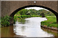 SK1509 : Coventry Canal north-west of Whittington in Staffordshire by Roger  Kidd