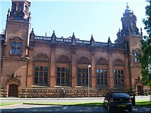 NS5666 : Glasgow buildings [26] by Michael Dibb