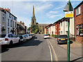 SD4232 : Church Street and St Michael's Church by David Dixon
