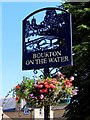 SP1620 : The village sign in Bourton-on-the-Water by Steve Daniels