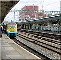 ST3088 : Milford Haven train at platform 2, Newport station by Jaggery