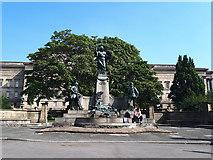 SJ3490 : Kings Liverpool Regiment Memorial, Liverpool  by Stephen Craven