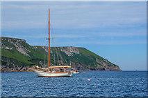SS1443 : Lundy Island : Coastal Scenery by Lewis Clarke
