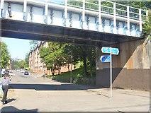 NS5566 : Glasgow bridges [5] by Michael Dibb