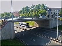 NS5566 : Glasgow bridges [8] by Michael Dibb
