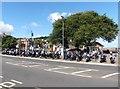 SS9746 : Motorcycle rally at Minehead by Roger Cornfoot