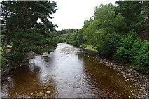 NH8621 : River Dulnain by Anne Burgess