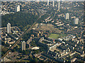 TQ3681 : Tower Hamlets from the air by Thomas Nugent