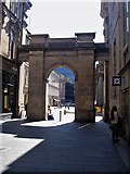 NS5965 : Glasgow buildings [47] by Michael Dibb