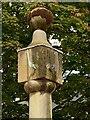 SK5361 : Old Market Cross, Mansfield – sundial by Alan Murray-Rust