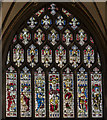 ST5972 : Gable East Window, St Mary Redcliffe church, Bristol by Julian P Guffogg
