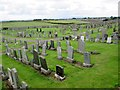 NT7954 : Duns  Cemetery  on  Preston  Road.  Duns by Martin Dawes