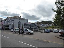 SN4562 : Scene in Aberaeron by Jeremy Bolwell