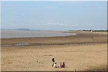 ST3049 : Northern beach, Burnham-on-Sea by M J Roscoe