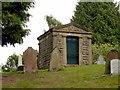 SK5459 : Mansfield Cemetery, Walkden mausoleum by Alan Murray-Rust