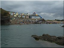 SS2006 : Bude seawater swimming pool and associated cabins by David Smith
