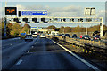 TL0621 : Northbound M1 near Luton by David Dixon