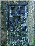 NS5161 : Flush bracket on Hurlet Hill trig point by Lairich Rig