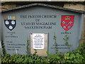 SK7792 : Notice at St Mary Magdalen Church, Walkeringham by Marathon