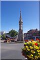 SP4540 : Banbury Cross by Stephen McKay