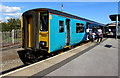 ST1166 : Merthyr Tydfil train at Barry Island station by Jaggery
