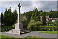 SD4178 : Grange-over-Sands war memorial by Ian Taylor