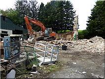 H4277 : Shop demolished, Gortnacreagh by Kenneth  Allen