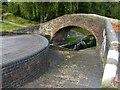 SP0288 : Bridge at Smethwick Top Lock, Birmingham Canal by Alan Murray-Rust