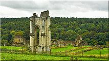 SE7365 : Kirkham Priory by Mick Garratt