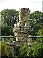 SJ9922 : The Ruin folly, Shugborough Park by Philip Halling