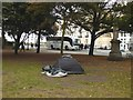 TQ3104 : Tent on the Old Steine by Oliver Dixon