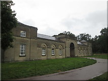 SJ5409 : Stable block entrance, Attingham Park by John Slater