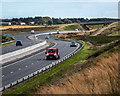 NO8796 : A90 near Crossley by Nigel Corby