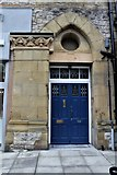 SH7882 : Door to Freemasons Hall, Mostyn Street, Llandudno by Richard Hoare