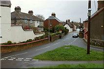 SY9287 : Cow Lane, Wareham by Derek Harper