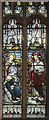 SE9608 : Stained glass window, St Mary's church, Broughton by Julian P Guffogg