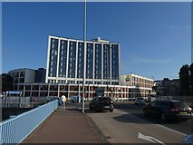 SX9192 : Holiday Inn Express, overlooking the River Exe, Exeter by David Smith