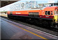 ST1875 : Class 66 diesel locomotive passing through Cardiff Central station by Jaggery
