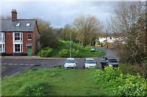 SY9287 : Town Walls and East Street, Wareham by Derek Harper