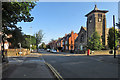 SK5837 : West Bridgford: Musters Road on a September morning by John Sutton