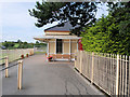 SO9524 : GWSR, Booking Office at Cheltenham Race Course by David Dixon