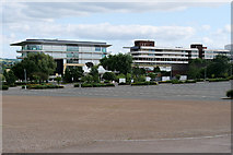 SO9524 : Cheltenham Racecourse by David Dixon
