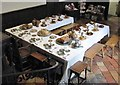 TG2208 : Strangers' Hall Museum - dining table in the Great Hall by Evelyn Simak