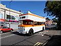 ST1067 : Guy Arab open-top double-decker bus, Broad Street, Barry by Jaggery