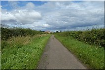 NU0541 : Road near Mount Hooley by DS Pugh