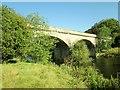 SE4843 : Disused  railway  viaduct  over  River  Wharfe by Martin Dawes