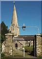 SX7256 : Church gates and piers, Diptford by Derek Harper