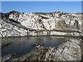 SW5742 : Rock pool by Jonathan Wilkins